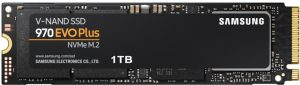 Samsung 970 EVO 1 TB PLUS @3.500/3.300MB/s (read/write)